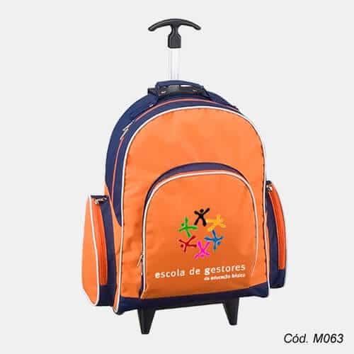 Mochila Infantil Com Rodinha Personalizada