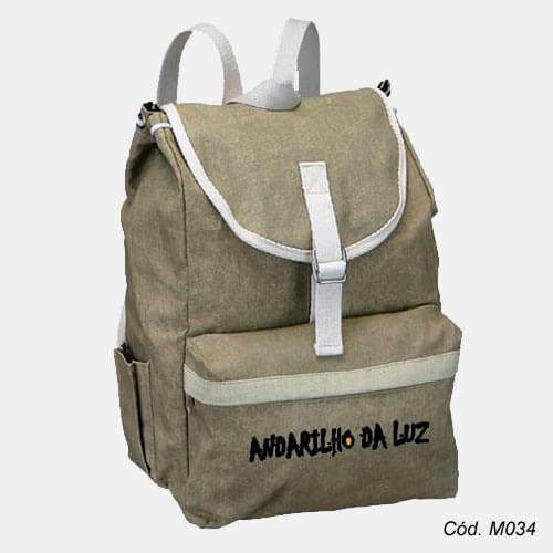 Mochila Saco de Lona Personalizada