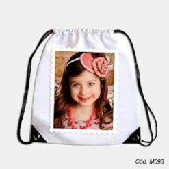 Mochila Saco Infantil Personalizada Com Foto