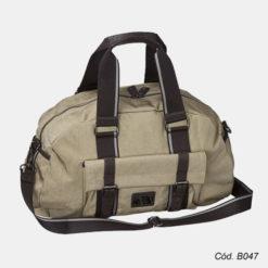 bolsa de viagem em lona personalizada