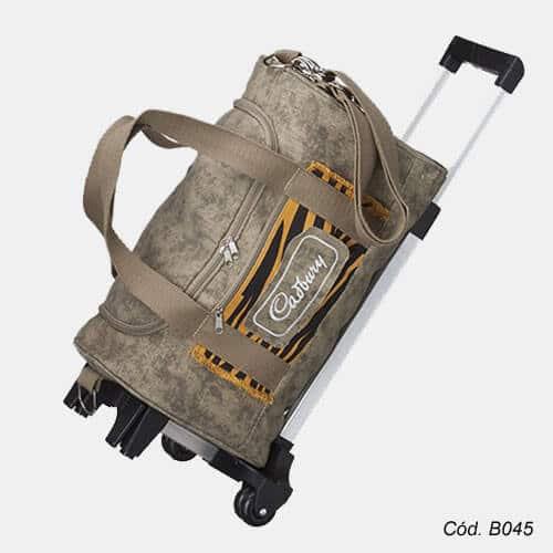 Bolsa Para Viagem Com Carrinho