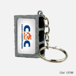 chaveiro bloco de concreto personalizado