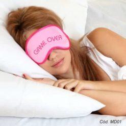 mascara de dormir feminina personalizada