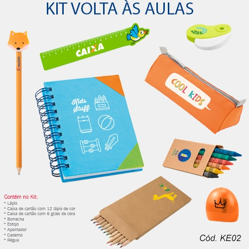 Kit Volta as Aulas Personalizado