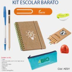 Kit Escolar Barato Personalizado